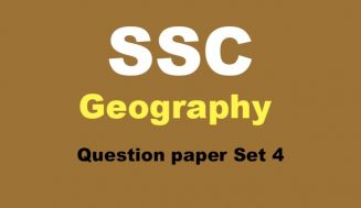 10th Board Geography | Question Paper Set 4 | Balbharati Practice Paper